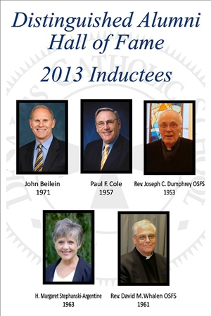 Distinguished Alumni Hall of Fame 2013 Inductees