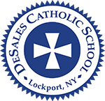 DeSales Catholic School Logo