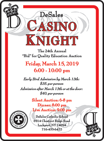 Casino Knight Auction